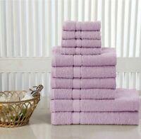 LUXURY 10 PCS TOWEL BALE SET 100% EGYPTIAN COTTON FACE HAND BATH TOWEL SET