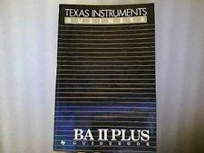 B00113JTLG BA II Plus Guidebook (Texas Instruments Business)