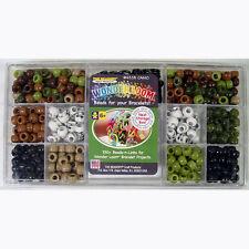 Skulls Pony Beads Links  Wonder Loom Rubber Band Bracelet Projects storage box