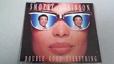 "SMOKEY ROBINSON ""DOUBLE GOOD EVERYTHING"" CD SINGLE 4 TRACKS"