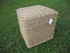 Fair Trade Loft Impressionen Tisch Hocker Beistelltisch Seegras 45x45x45 cm