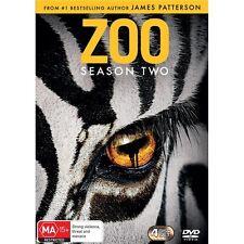 ZOO-Season 2-Region 4-New AND Sealed-4 DVD Set-TV Series