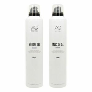 AG Mousse Gel Extra Firm Curl Retention 10 oz. - 2 Pack!!