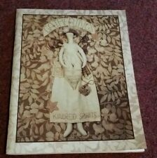 GATHERINGS Kindred Spirits BOOK- OVER 25 Projects! ANGEL HEAD PIN