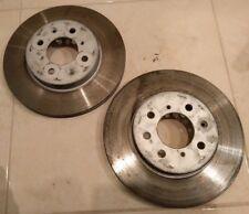 2x Brake Discs (Pair) Vented fits HONDA CIVIC Mk7 1.4 Front 01 to 05 262mm Set
