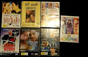 DVD Bulk Lot Choose, Every DVD $7.00 Assorted Titles PG Drama Region 4