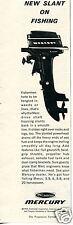 1965 Kiekhaefer Corp Mercury Fishing Motor Print Ad