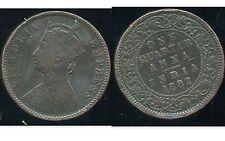 INDE    one quarter anna  1882
