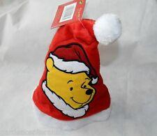 Cappello per natale rosso a Winnie Pooh