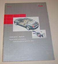 Audi A4 B6 2001 Technik - SSP 254 -  Stand 2000!