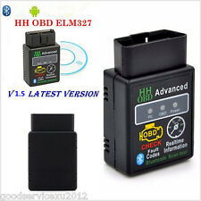 ELM327 Wireless Blue-tooth OBD2 OBDII Car Diagnostic Scanner Tool For Smartphone