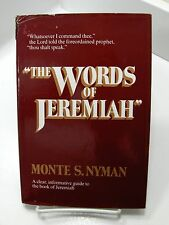 THE WORDS OF JEREMIAH Prophets and Covenants Monte S. Nyman 1st Ed Mormon LDS