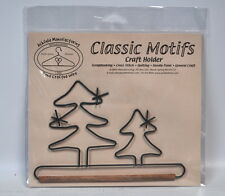 Classic Motifs 6 Inch Evergreen Craft Holder With Dowel