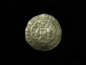 Edward III Hammered Silver Groat (with French title) S.1570? 4.50g