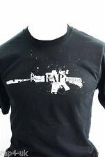 Rap4 FUCILE Splatter T-shirt (dimensioni: 2x grande) [dh4]