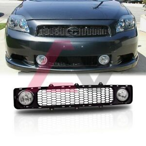 05-10 For Scion tC Clear Lens Pair Bumper Grill Fog Light Lamp OE Replacement