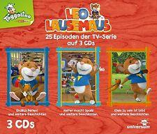 LEO LAUSEMAUS - HÖRSPIELBOX 2   3 CD NEU