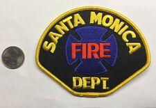 Santa Monica California Fire Department Firefighter Paramedic Patch Ca