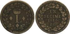 Pièces de monnaie françaises 1 francs qualité TTB