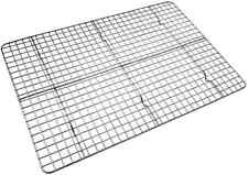 Checkered Chef Cooling Rack Baking Rack. Stainless Steel Oven and Dishwasher Saf