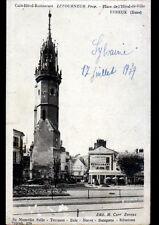 """EVREUX (27) HOTEL-RESTAURANT """"LETOURNEUR"""" & CLOCHER animés en 1939"""