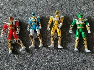 Power Rangers Mystic Force Bandai 2006 Figures Bundle Yellow, Blue, Green, Red