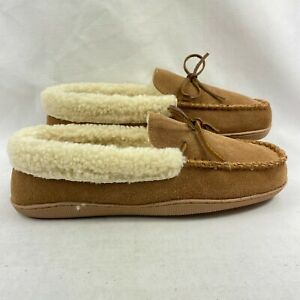 Clarks Women's Holly Moccasin Slippers Brown US 10M