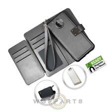 Motorola Moto E4 Deluxe Wallet - Black Case Cover Shell Shield