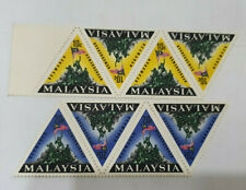 Malaysia 1966 National Monument Strip of 4 MINT MNH