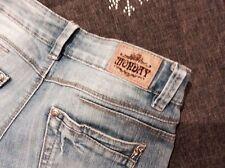 Stonewashed L36 Damen-Jeans mit geradem Bein
