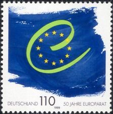 Germany 1999 Council of Europe 50th Anniversary/Flags/Politics/People 1v n45022
