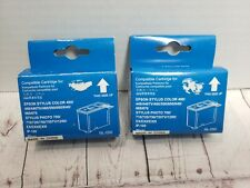Lot of 2 Epson Stylus Color Printer Ink  NL-050~440 460 640 660 740 760 860 1160