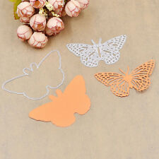 DIY Butterfly Cutting Dies Two Sides Scrapbooking Novelty Hand Craft Stencil New