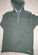 BRAND NEW WITH TAGS BOYS HOODED LONG SLEEVE TOP 13 - 14 YEARS FROM GEORGE