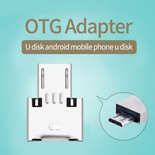 OTG to Micro USB Flash Drive U Disk Adapter Metal For Tablet PC Phone Computer