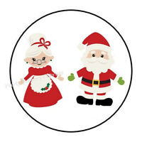 Christmas 6 Mrs Claus secret pantry labels stickers glossy laminated ready to use