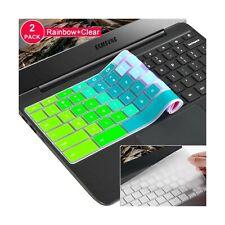 "[2 Pack]Samsung chromebook 3 keyboard cover skin for Samsung Chromebook 11.6""..."
