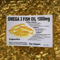 1080 OMEGA-3 Olio di Pesce Capsule, 1000mg Enorme Risparmio!