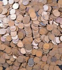 1000 Count Lincoln Wheat Pennies ~ $10 Face Value ~ No Culls!