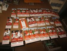 New Listing2000's Baltimore Orioles Baseball Ticket Lot With Player Photos - see photos