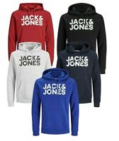 Jack & Jones Mens Regular Fit Hoodie Long Sleeve Hooded Smart Casual Sweatshirts