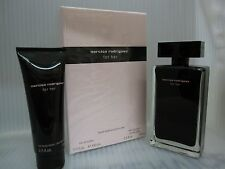 NARCISO RODRIGUEZ FOR HER 2 Pieces Gift Set:3.3 EDT Spray + 2.5 oz Body Lotion