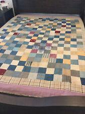Antique Hand Sewn Patchwork Quilt