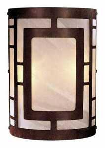Minka Lavery 346-14 2-Light Wall Sconce in Bronze