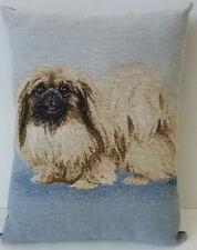 Pekingese Dog Tapestry Decorative Throw Pillow Usa Made Linda Picken