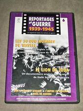 LES 30000 HOMMES DE WAVELL/LE LION DE JEDA - n° 6 - DVD Reportage Guerre 1945