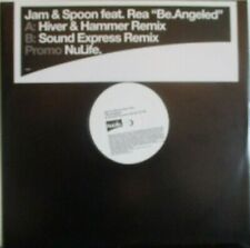 """JAM & SPOON ft REA ~ Be Angeled ~ 12"""" Single PS PROMO"""