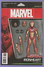 Invincible Iron Man 1 Action Figure variant 1st Ironheart Riri Williams series