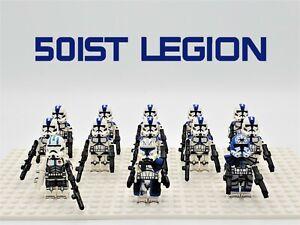 Star Wars 501st Legion Captain Rex 13pcs Lot Custom Set - USA SELLER