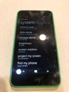 Nokia RM-977 (Cricket) Smartphone  Green  Small Cracks In Screen